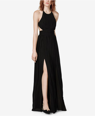 Fame and Partners Calla Pleated Cutout Gown $199 thestylecure.com