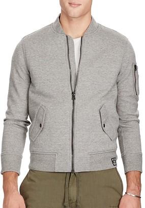 Polo Ralph Lauren Double Knit Bomber Jacket $265 thestylecure.com