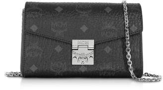 MCM Millie Visetos Small Crossbody Bag