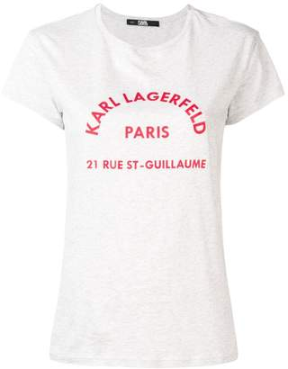 Karl Lagerfeld Paris logo T-shirt