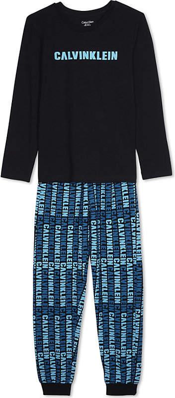 Logo print pyjamas set 4-16 years