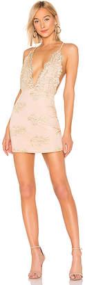 by the way. Gianna Deep V Mini Dress