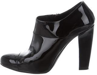 pradaPrada Patent Leather Ankle Boots