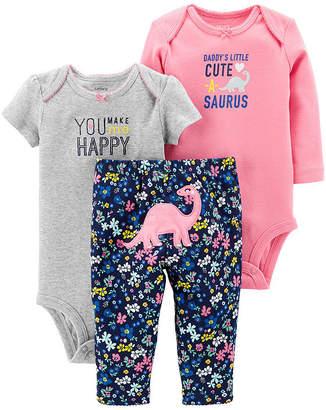 Carter's Little Baby Basics 3-pc. Layette Set - Girl