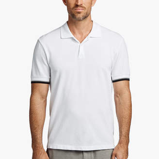 James Perse COTTON PIQUE POLO