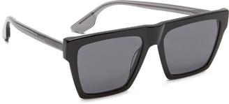 McQ - Alexander McQueen Oversized Flat Top Sunglasses $149 thestylecure.com