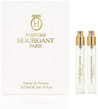 Houbigant Paris Quelques Fleurs Royale Extrait Travel Spray Refills, 0.3 oz./ 8.0 mL