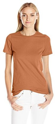 American Apparel Women's Organic Fine Jersey Classic Woman T-Shirt $8.88 thestylecure.com