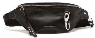 Alexander McQueen Harness Leather Belt Bag - Mens - Black