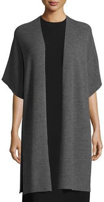 Eileen Fisher Merino Ribbed Easy Cardigan $338 thestylecure.com