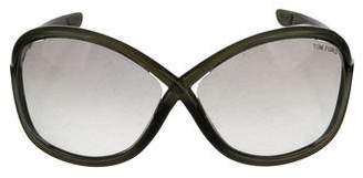 Tom Ford Gradient Oversize Sunglasses