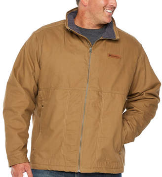 Columbia Canvas Midweight Work Jacket-Big and Tall
