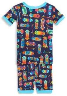 Toddler's, Little Boy's & Boy's Two-Piece Skatepark Pajama Set