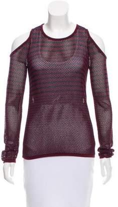 Rag & Bone Striped Cold Shoulder Sweater w/ Tags