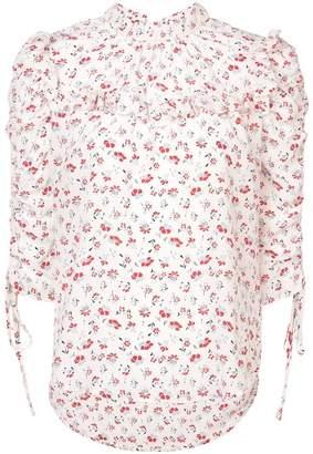 Veronica Beard Howell flora blouse