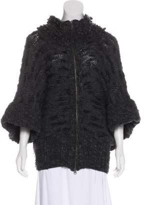 Stella McCartney Virgin Wool Zip-Up Coat