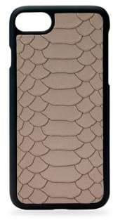 GiGi New York Snake-Embossed Leather iPhone 7 Case