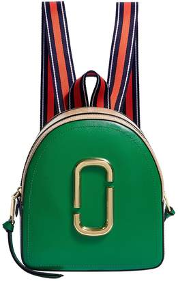 Marc Jacobs Leather Pack Shot Backpack