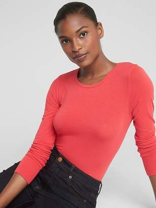 Gap Featherweight Long Sleeve Crewneck T-Shirt