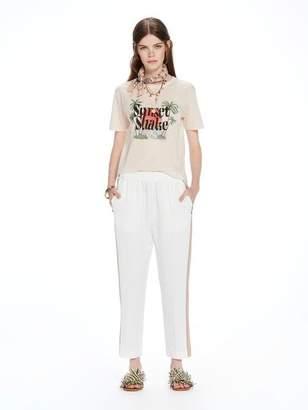 Scotch & Soda High-Neck Artwork T-Shirt