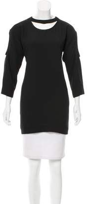 IRO Cut-Out Accented Tunic Top