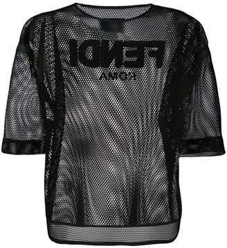 Fendi mesh T-shirt