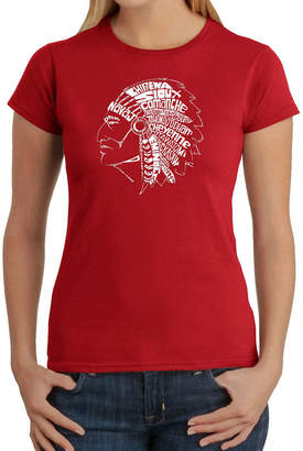 LOS ANGELES POP ART Los Angeles Pop Art Popular Native American Indian Tribes Graphic T-Shirt