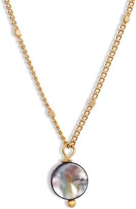 Lux Divine Abalone Pendant Necklace
