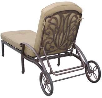 Three Posts Lebanon Sunbrella Chaise Lounge Cushion