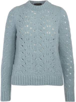Roberto Collina Light-blue Wool Jumper