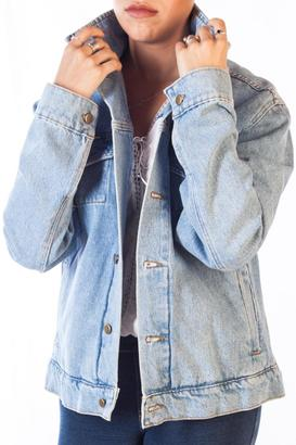 American Apparel Typsie Denim Jacket $323 thestylecure.com