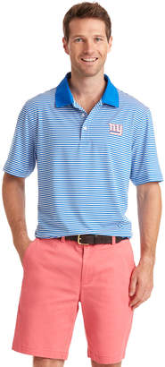 Vineyard Vines New York Giants Porter Stripe Polo