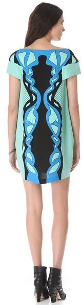 Ohne Titel Strapless Curving Print Dress