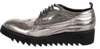 DSQUARED2 Metallic Wingtip Derby Brogues