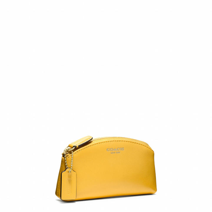 Coach Legacy Leather Small Cosmetic Case