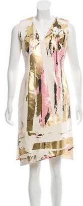 Reed Krakoff Printed Silk Dress