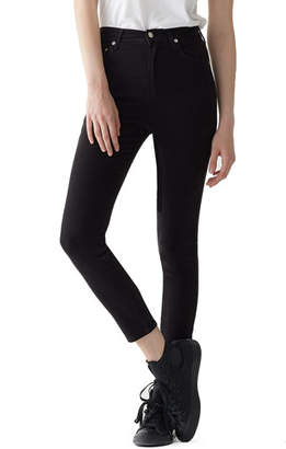 A Gold E AGOLDE Roxanne Super High-Rise Ankle Skinny Jeans