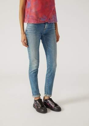 Emporio Armani J06 Skinny Jeans In Stretch Denim