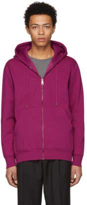 Burberry Pink Kenton Zip Hoodie
