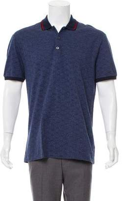 Gucci GG Short Sleeve Polo Shirt