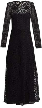 REDVALENTINO Macramé-lace maxi dress $1,695 thestylecure.com