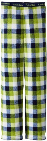Calvin Klein Boys 8-20 Plush Plaid Pajama Pant
