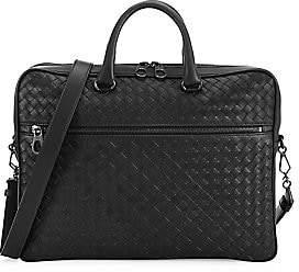 Bottega Veneta Men's Intrecciato Leather Briefcase