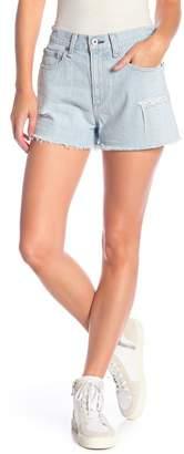 rag & bone\u002FJEAN Justine High Waist Cutoff Denim Shorts (Glena)