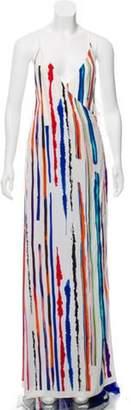 Emilio Pucci Silk Printed Dress White Silk Printed Dress