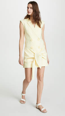 Tibi Sleeveless Jacket Dress