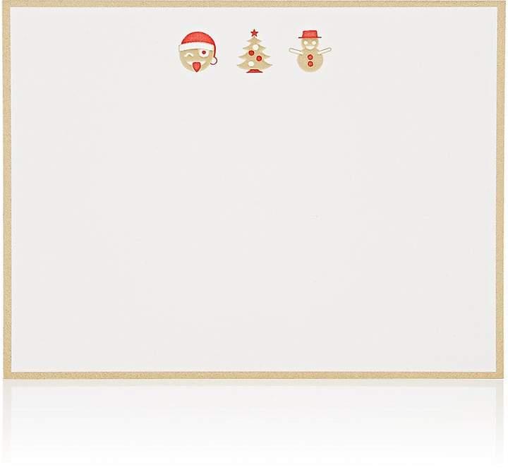 Connor Holiday Emoji Notecard Set