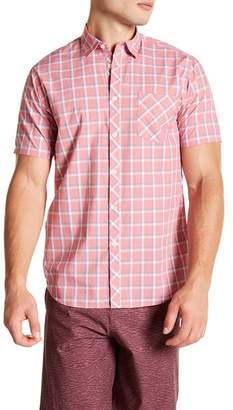 Micros Nixon Short Sleeve Woven Regular Fit Shirt