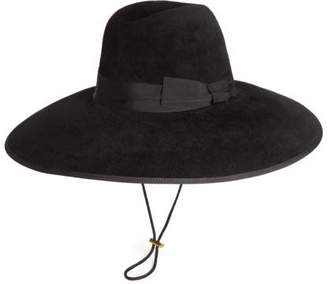 Gucci Felt wide brim hat