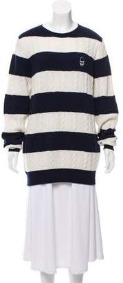 Lucien Pellat-Finet Cashmere Stripped Sweater